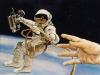 Een aardige ontmoeting in de ruimte
