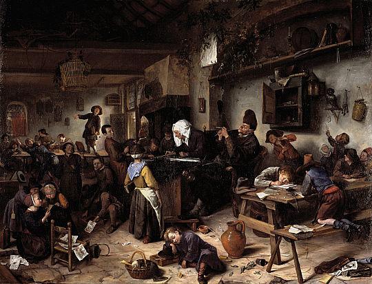 Een kijkje in de leerwerkruimte
